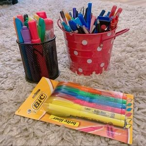 School office desk supplies